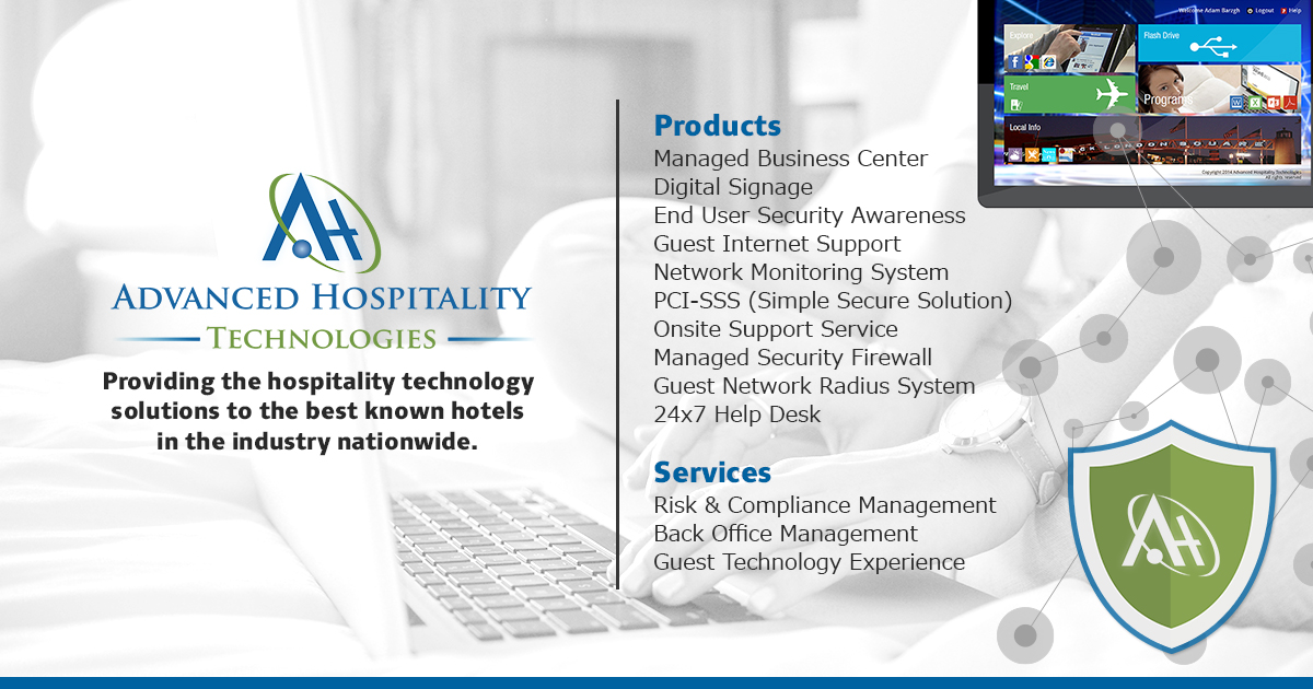 Advanced Hospitality Technologies